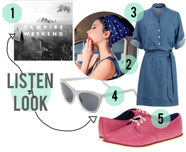 Listen & Look: Vampire Weekend | littlegraypixel.blogspot.com