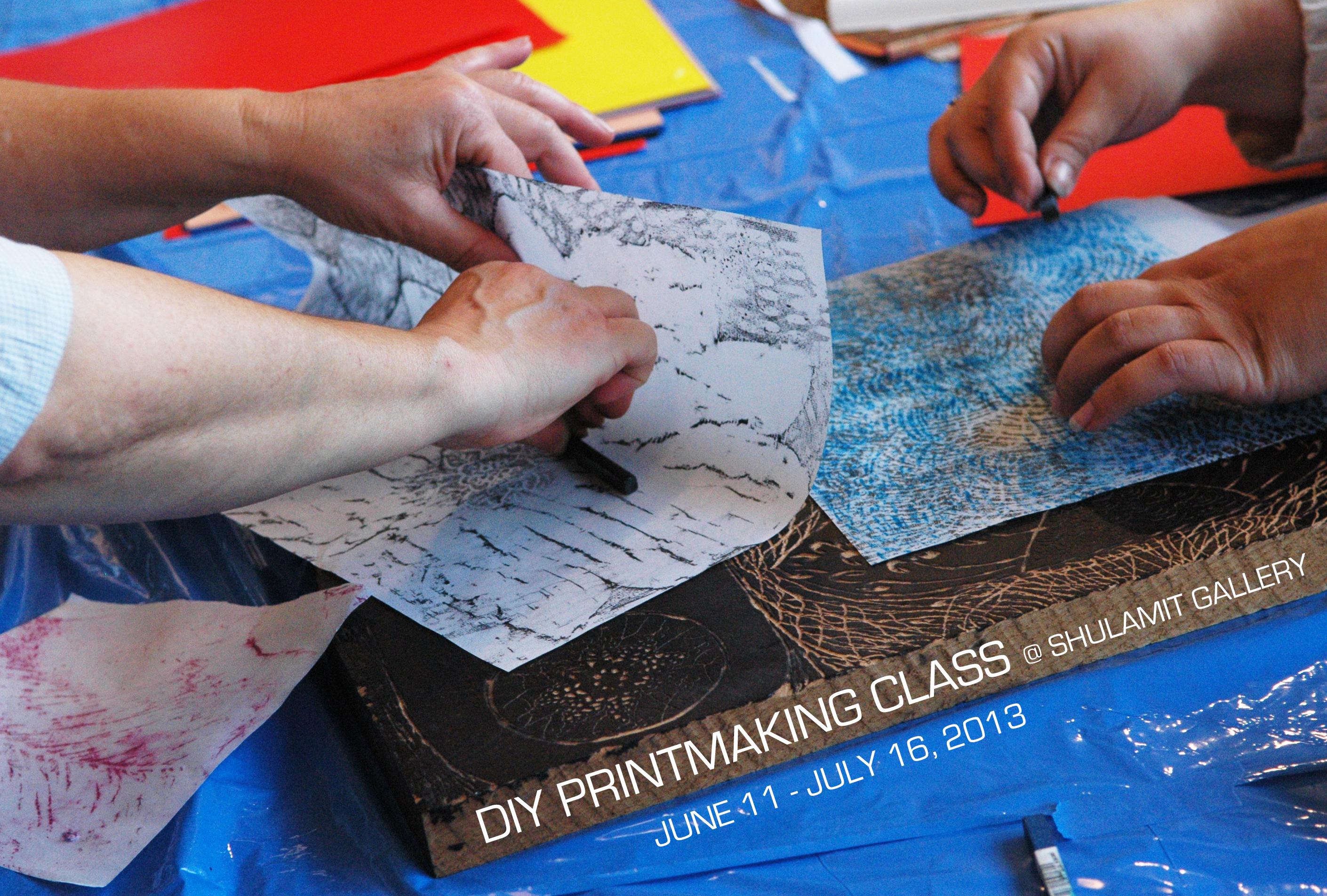 DIY Printmaking Class