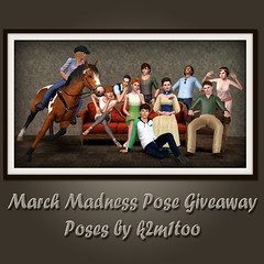 March Madness Pose Giveaway