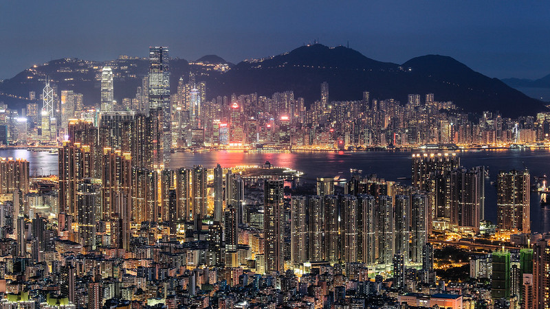 Bye Hong Kong, Hello Taipei.