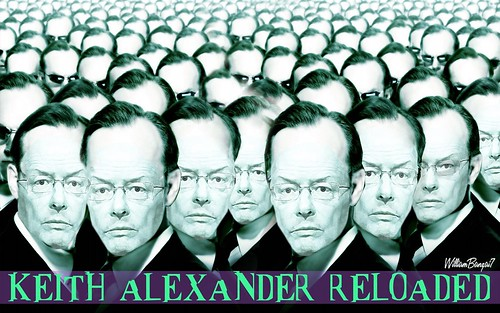 KEITH ALEXANDER RELOADED copy by WilliamBanzai7/Colonel Flick