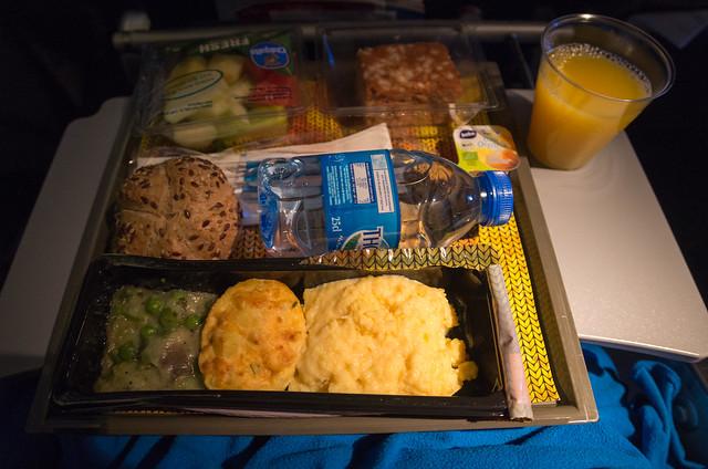 KLM KL867 機内食