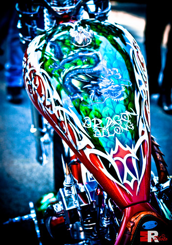 Harley Davidson Dragon