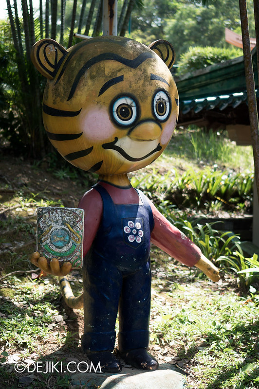 Haw Par Villa - cartoony tiger