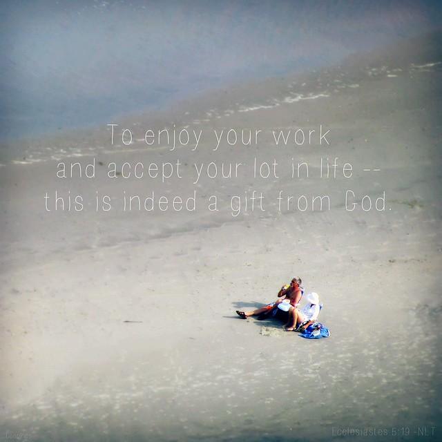 Ecclesiastes 5:19