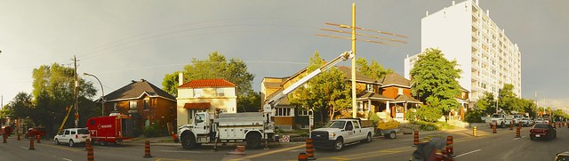 Cable Repair Crew on Bronson