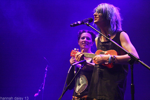 Tom Milsom & Amanda Palmer @ The Roundhouse, Camden, 12/7/13