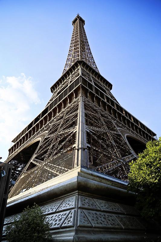 Eiffel Tower Corner View
