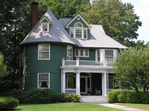 Choosing the siding is half the battle old town home for Shingle style siding