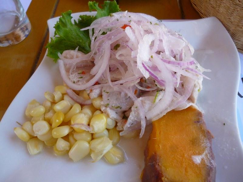 Ceviche in Arequipa