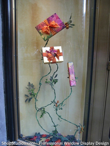Holiday Window Design NYC