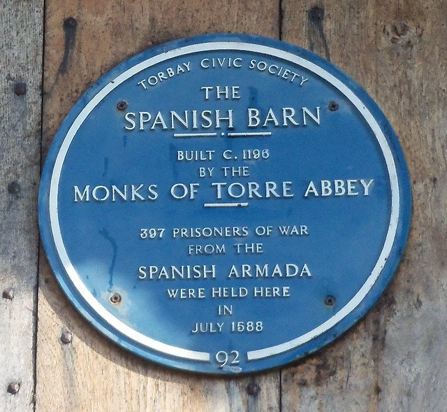 The Spanish Barn, Built C1196 By The Monks Of Torre Abbey