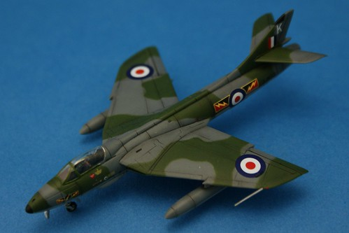 Revell 1/144 - Hawker Hunter FGA.9 - No.4 Sqd - Completed 2