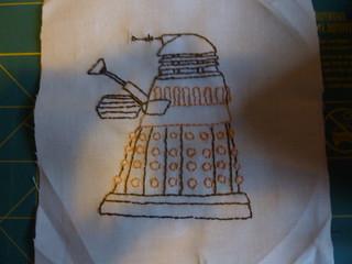 "Dalek 5"" Block"