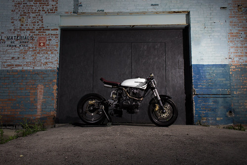 Wrench Tech Racing's 1982 CM450 Modern Cafe Conversion by krum04