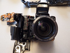 Dismantling Canon Powershot S3IS