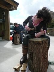 scythe peening with jig