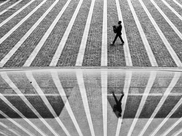 Lines- Fantastic Black and White Street Photographs
