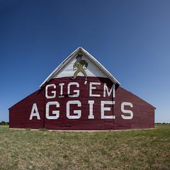 Aggie Barn Super Wide