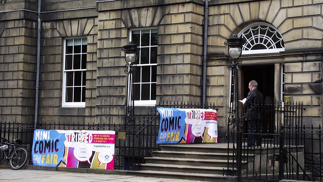 Stripped Mini Comic Fair at Edinburgh Book Fest 2013 01