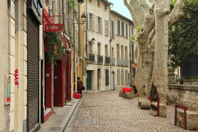 Rue des Teinturiers - Avignon (France)