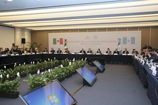 Concluyó la XI Reunión de la Comisión Binacional México–Guatemala