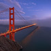 Golden Gate Glow by Matt Grans Photography