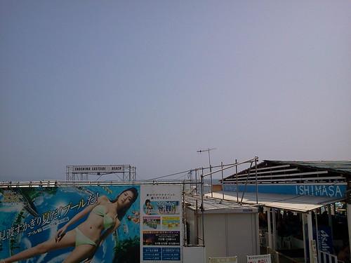 湘南・鎌倉(2013/08/15) 江の島東浜