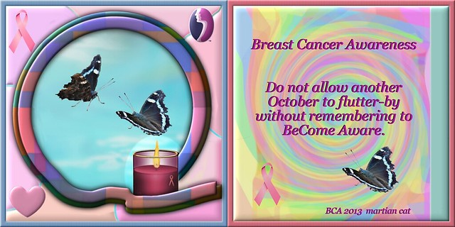 2013 Breast Cancer Awareness quilt square #2