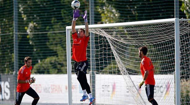 Primer entrenamiento de Gareth Bale con el Real Madrid