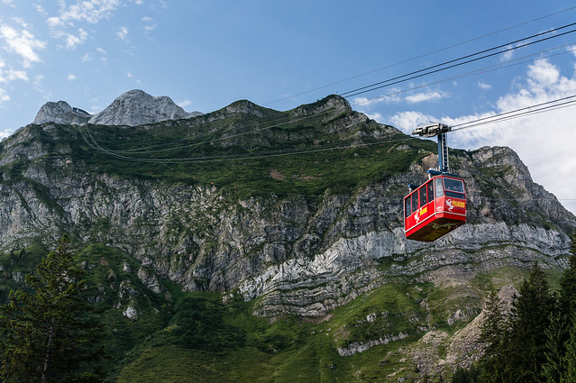 Cable-Car, Mount Pilatus