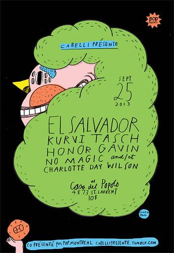 EL SALVADOR poster by Ohara.Hale