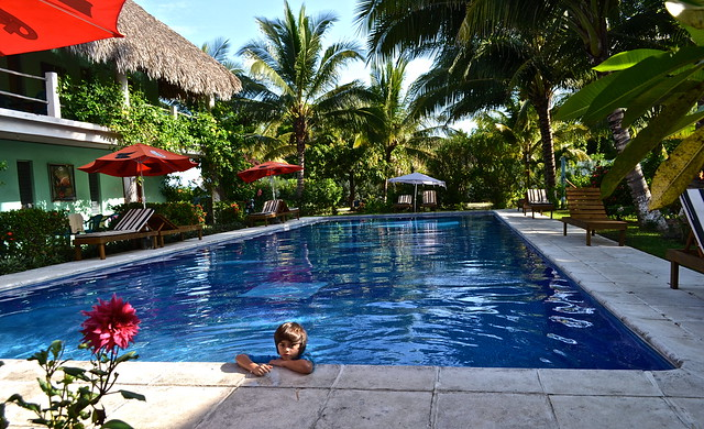 Olympic size pool at -Atelie Del Mar Hotel - Monterrico, Guatemala