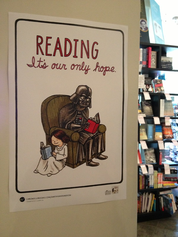 Reading; it's our only hope