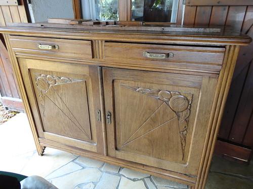 Meubles de cuisine buffet cuisine ann es 1930 meubles de cuisines - Meuble des annees 30 ...