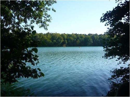 位於德國柏林北方近郊,名為Liepnitzinsel的美麗小島。