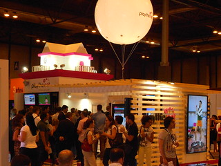 Stand play-thenet en eShow Madrid 2013