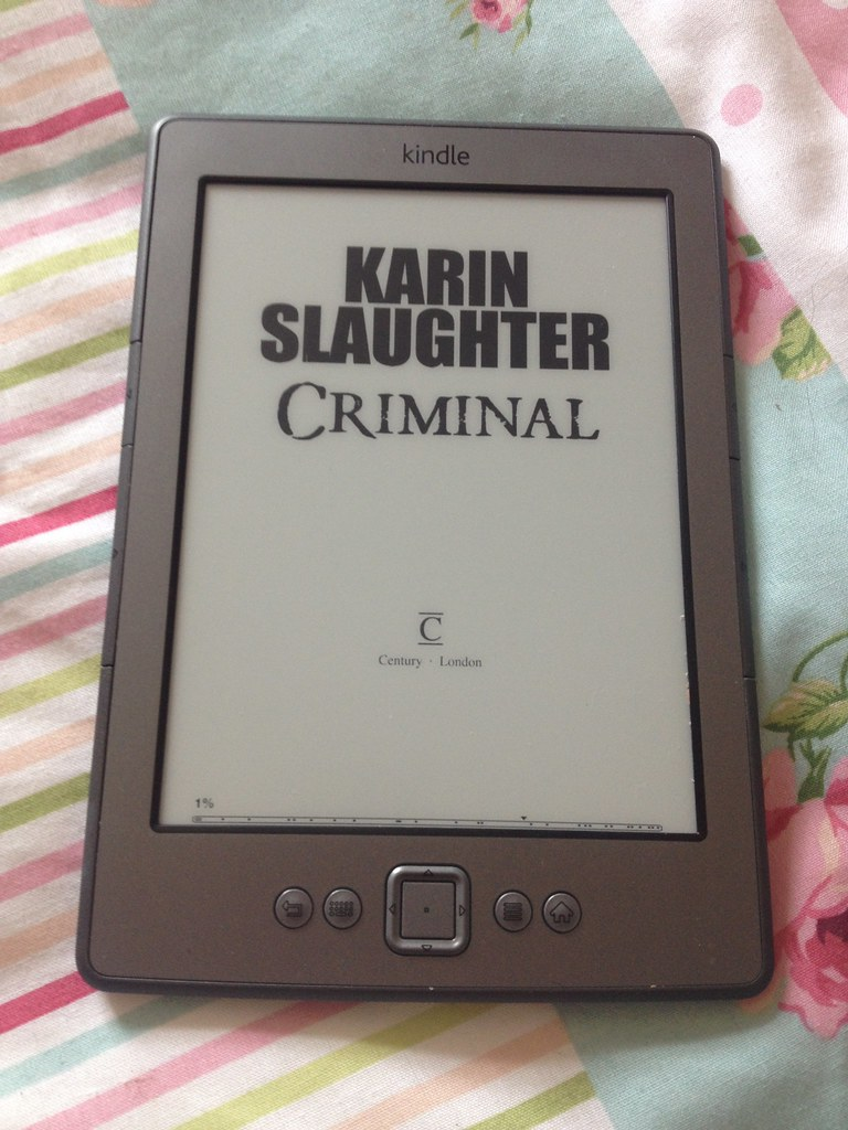 Karin Slaughter Criminal Book Cover Kindle
