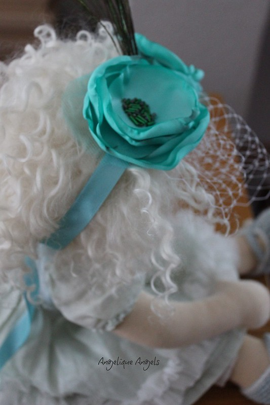 Mint Dolly-sized Fascinator
