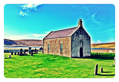 Tresta church,Fetlar,Shetland #Shetland#camera+ by davidearlgray