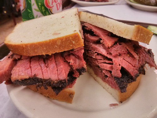 Pastrami from Katz's Deli (NYC)