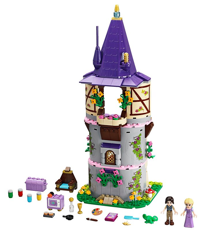 LEGO Disney Princess 41054 - Rapunzel's Creativity Tower