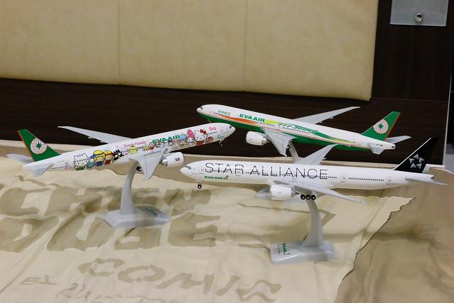 長榮 EVA Air 777-300ERs