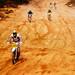 Motocross Track Race by Saibal K. Ghosh