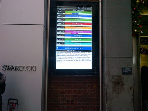 LIRR Exterior Sign at Penn Station