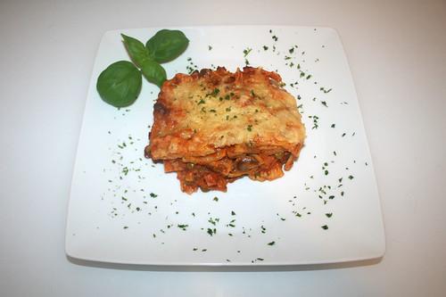 54 - Rigatoni al forno - Serviert / Served