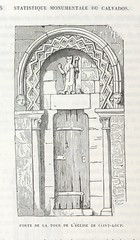 """British Library digitised image from page 434 of """"Statistique monumentale du Calvados"""""""
