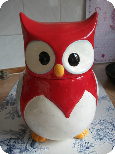 Owl Cookie Jar dotcomgiftshop