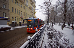 Moscow tram 71-631 4606 line A