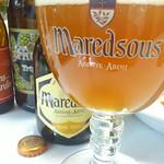 ベルギービール大好き!!マレッツ 6 ブロンドMaredsous 6 Blonde